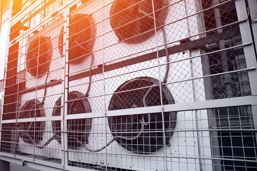 What is the process of HVAC rental
