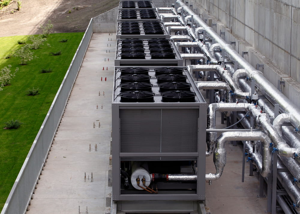 When should you use a chilled water system